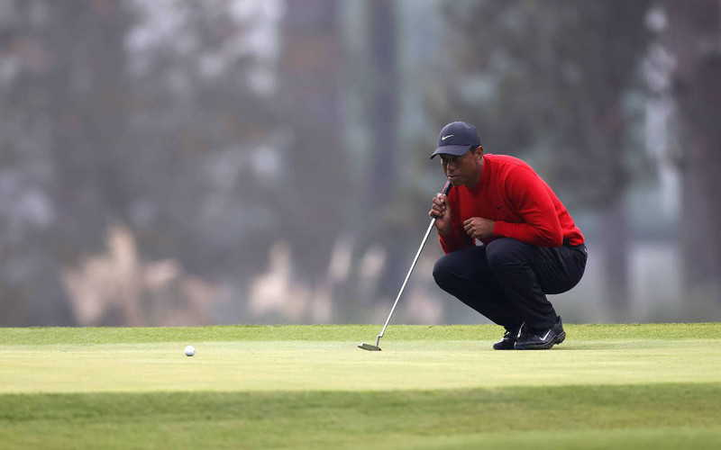 Tiger Woods został ciężko ranny w wypadku samochodowym