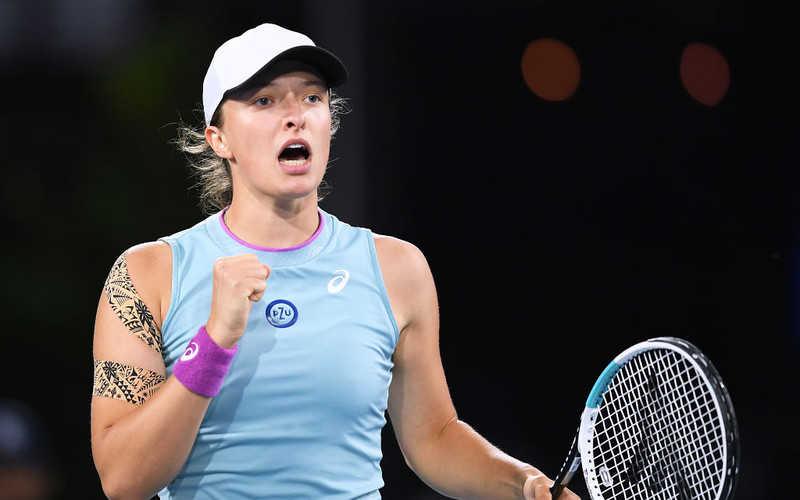 WTA in Adelaide: Iga Świątek advanced to the quarter-finals