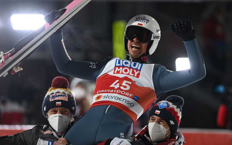 Piotr Żyła mistrzem świata! Ogromny sukces Polaka w Oberstdorfie