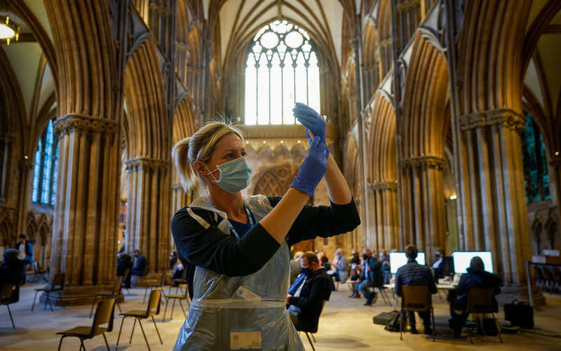 Covid-19: More than 20 million in UK have had first jab - Hancock