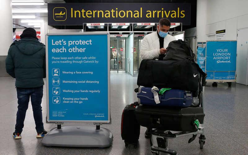 W UK trwają poszukiwania osoby, u której wykryto brazylijski wariant wirusa