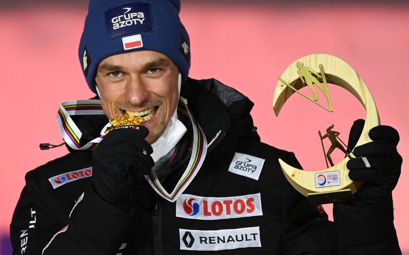 Ski World Cup: Piotr Żyła received the gold medal