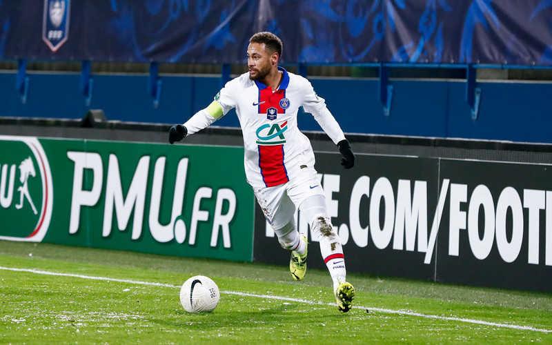 Piłkarska LM: Neymar nie zagra w rewanżu z Barceloną