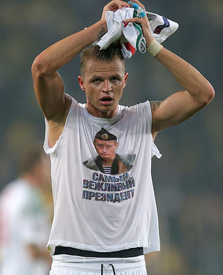 Kara za koszulkę z Putinem
