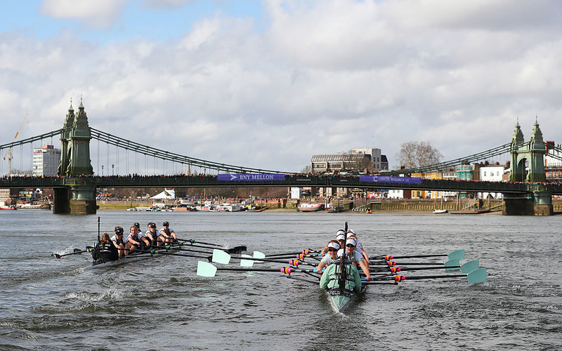Oxford and Cambridge to renew rivalry as Boat Race returns in Ely