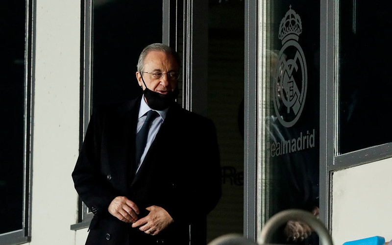 European Super League: Project is 'on standby', says Real Madrid president Florentino Perez