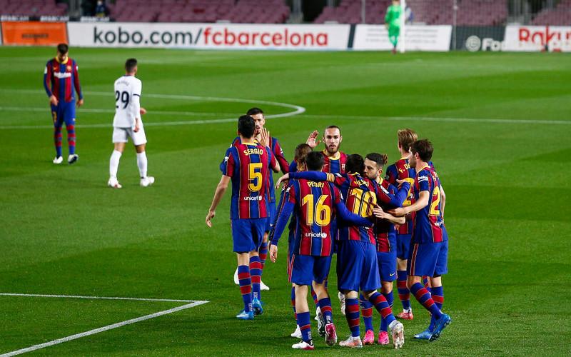 Liga hiszpańska: Komplet wygranych drużyn z czołówki