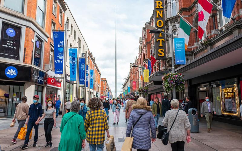 Ireland reopens shops after 4,5 months break