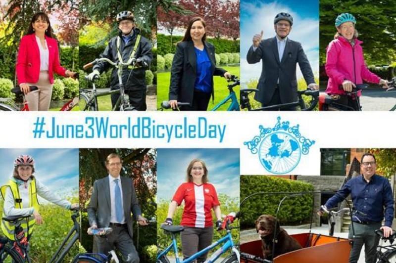 Ambasadorowie w Irlandii zapraszają na rowerową przejażdżkę