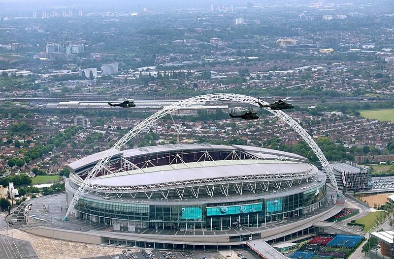Euro 2020: Finał na Wembley będzie mogło zobaczyć 45 tys.  widzów