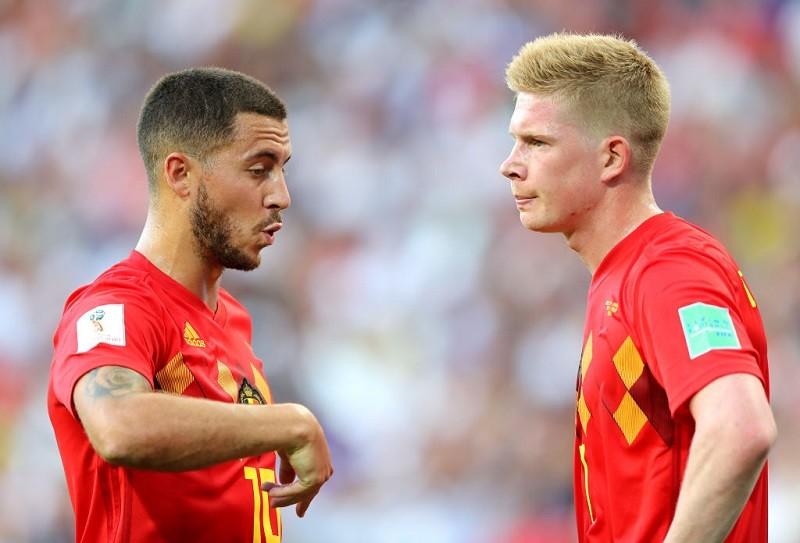 """Trener Belgii o De Bruyne i Hazardzie: """"Decyzja w ostatniej chwili"""""""