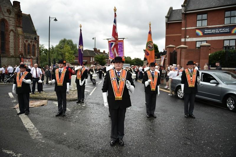 Irlandia Płn.: Marsze oranżystów mniejsze i bardziej lokalne niż zwykle