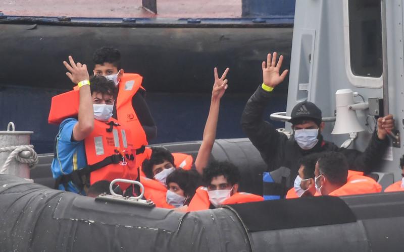 UK: Dobowy rekord liczby nielegalnych imigrantów, którzy przedostali się do kraju
