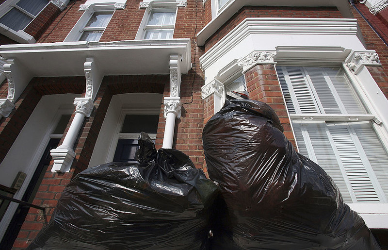 Self-isolation hits bin collections across country