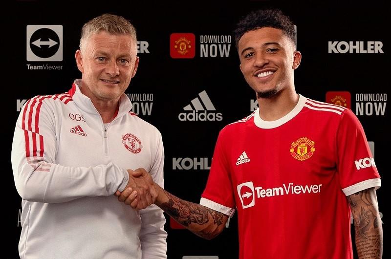 """Sancho oficjalnie w Manchesterze United. """"Wiedziałem, że wrócę do Anglii"""""""