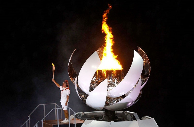 The top moments from the Tokyo Olympics opening ceremony