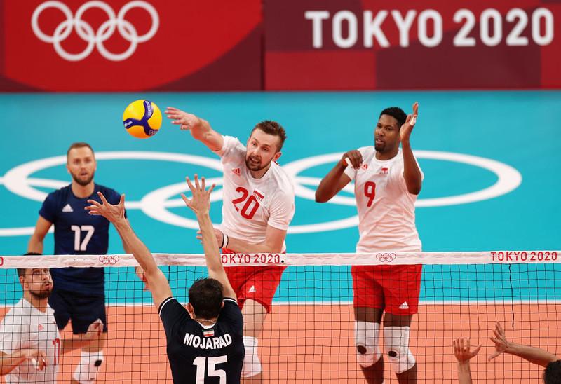 Tokio 2020: Polska przegrała w siatkówce z Iranem 2:3