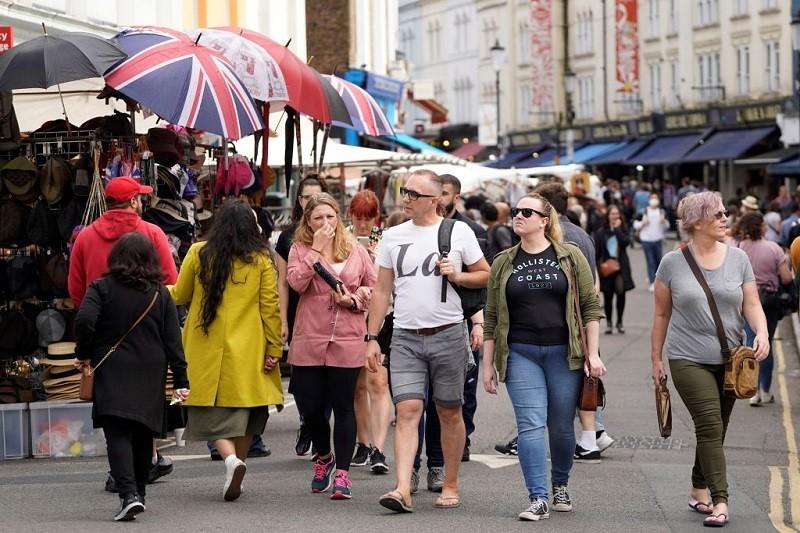W UK niecałe 22 tys. zakażeń. Najmniej od końca czerwca