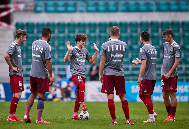 Piłkarska LM: Legia Warszawa zremisowała z Dinamem Zagrzeb 1:1