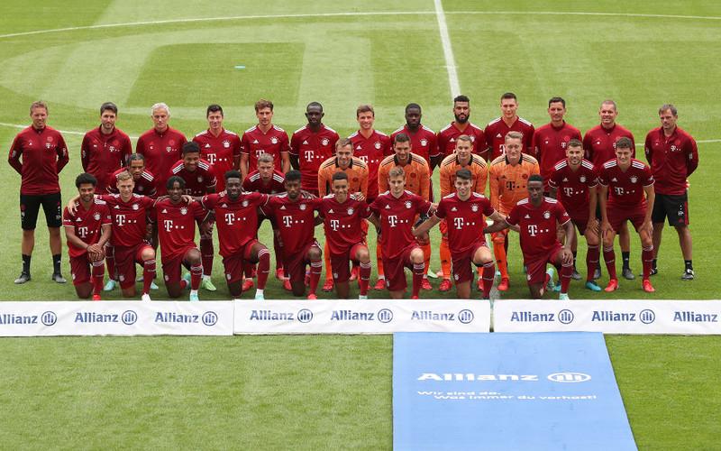 Mistrz olimpijski Zverev na prezentacji piłkarzy Bayernu Monachium