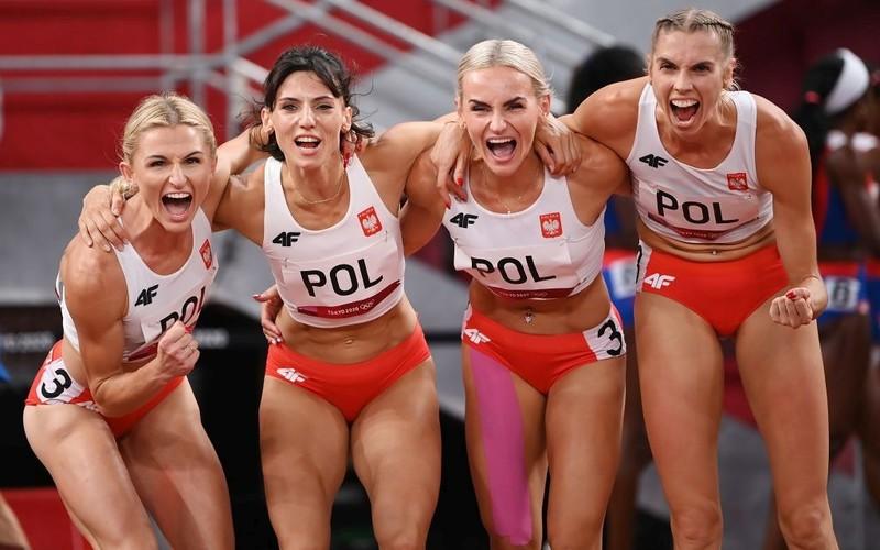 Tokio 2020: Polki awansowały do finału sztafety 4x400 m