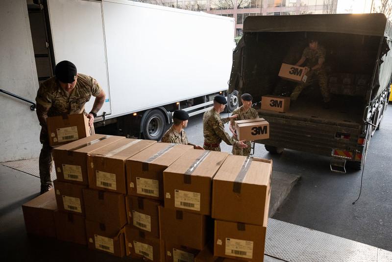 Brytyjska armia w gotowości, aby zastąpić kierowców TIR-ów