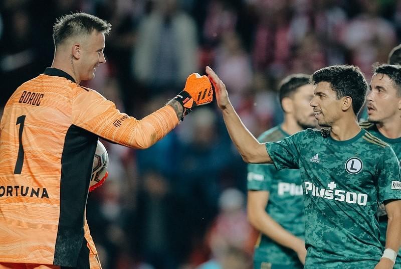 Liga Europy: Remis Legii Warszawa ze Slavią Praga