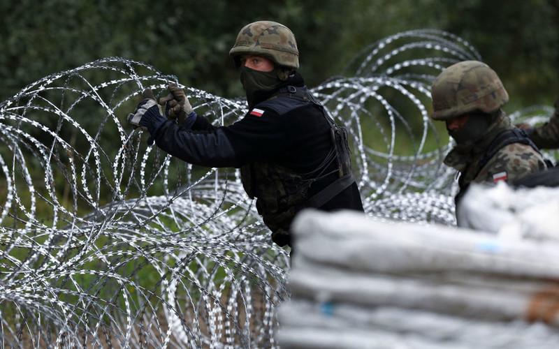 Komisja Europejska broni płotu na zewnętrznej granicy z Białorusią
