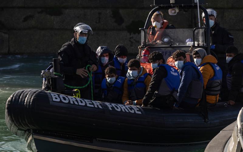Uratowano 126 migrantów, którzy usiłowali dostać się drogą morską do UK