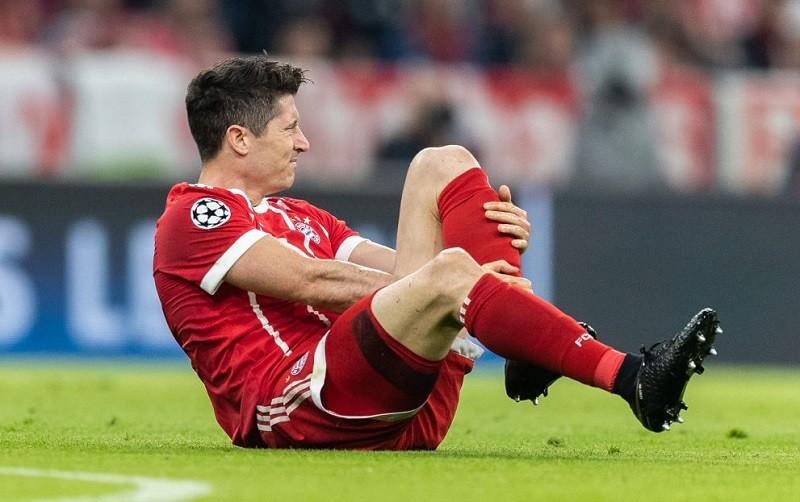 Lewandowski kontuzjowany. Nie zagra z Barceloną?