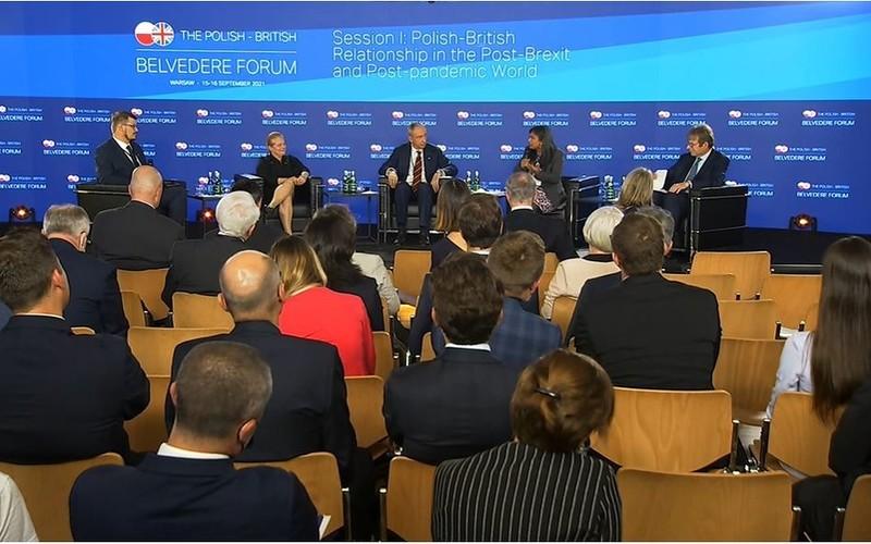 Wspólne interesy Polski i UK na Polsko-Brytyjskim Forum Belwederskim
