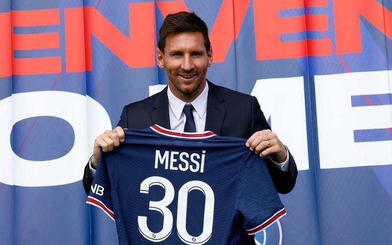 30 mln netto dla Messiego za rok gry w PSG