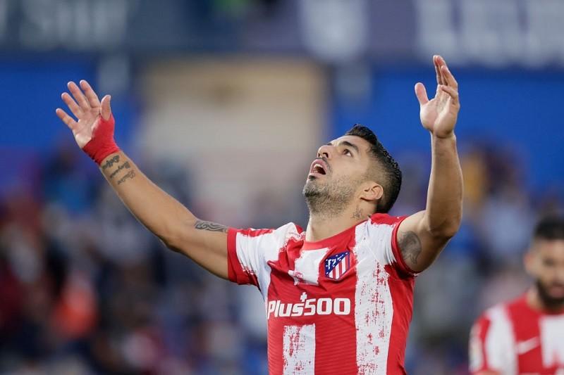 Luis Suarez bohaterem Atletico w meczu z Getafe