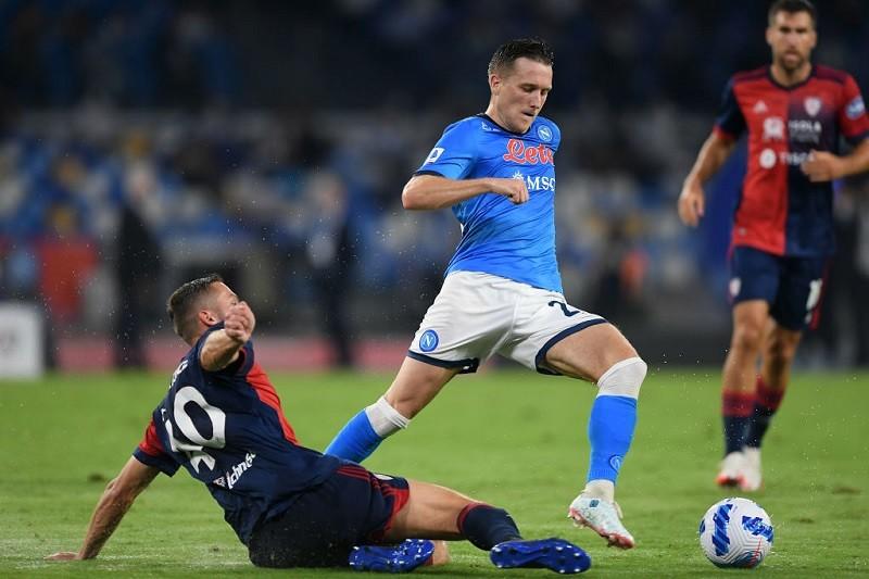 Serie A: Napoli wciąż nie do zatrzymania. Asysta Zielińskiego