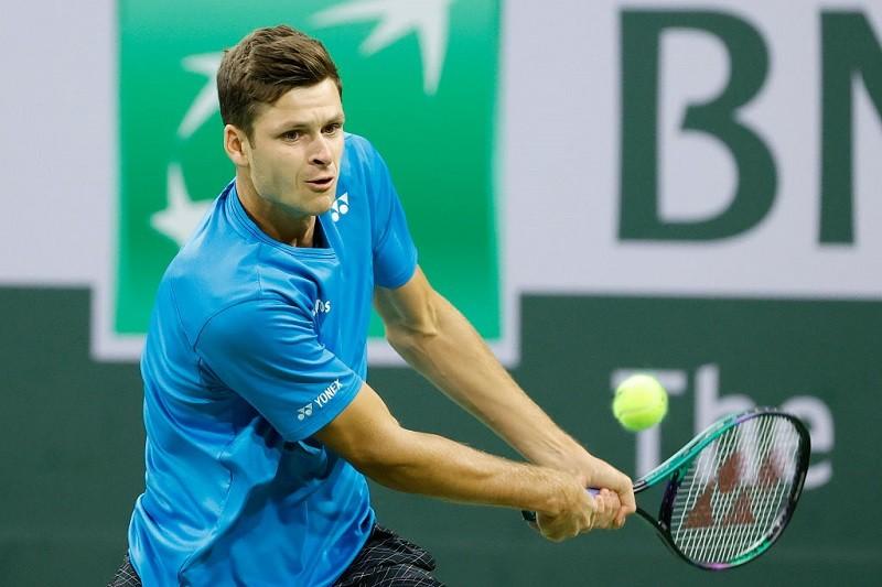 ATP w Indian Wells: Pewny awans Huberta Hurkacza do 1/8 finału