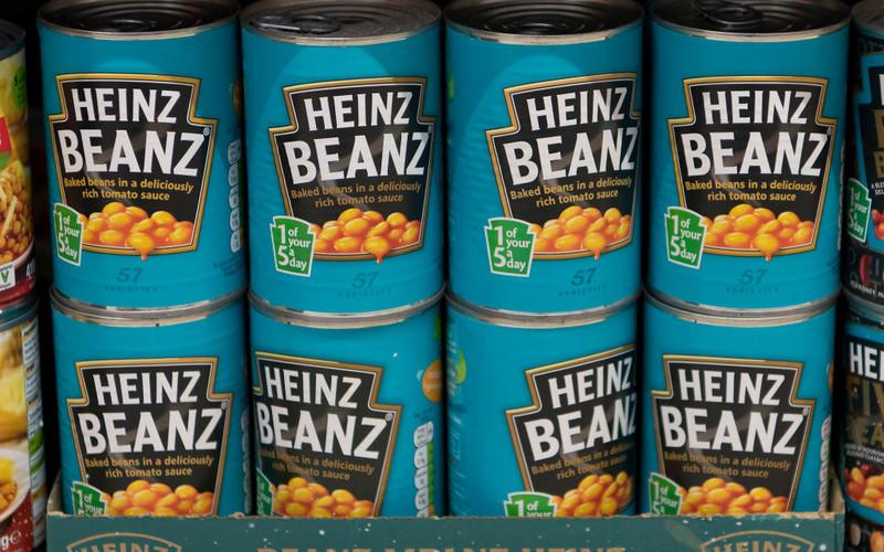 Szef Heinz: W UK należy spodziewać się wyższych cen żywności