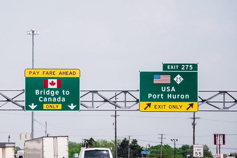 USA po 19 miesiącach otwierają granicę z Kanadą