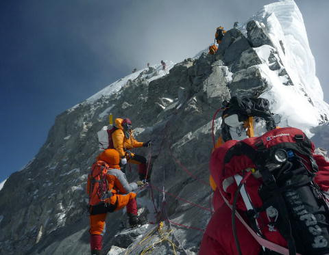 For the attempt to climb Mount Everest without permission, penalty 22 thousand. dollars
