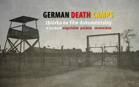 """Skończyć z """"polskimi obozami koncentracyjnymi"""". Trwa zbiórka na film po angielsku"""