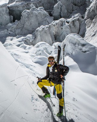 Andrzej Bargiel reached the summit of Manaslu