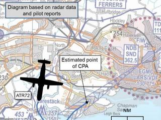 Southend: Dron o włos minął samolot pasażerski