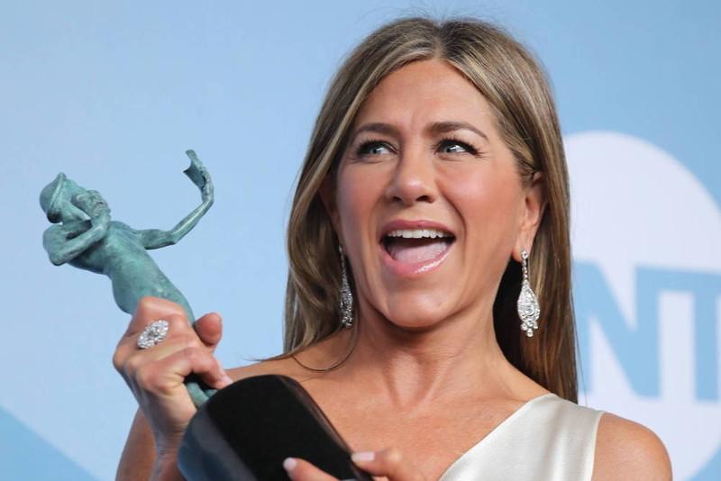 Jennifer Aniston unika kontaktu z niezaszczepionymi
