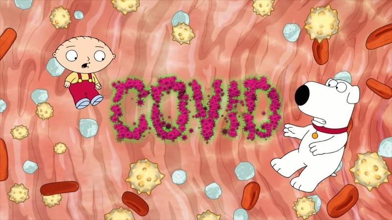 """""""Family Guy"""" promuje szczepienia przeciw Covid-19"""