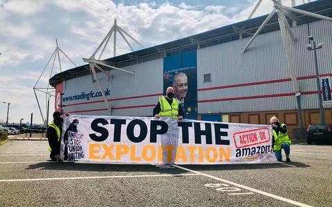 Związki zawodowe Unite the Union rozpoczynają kampanię Action on Amazon