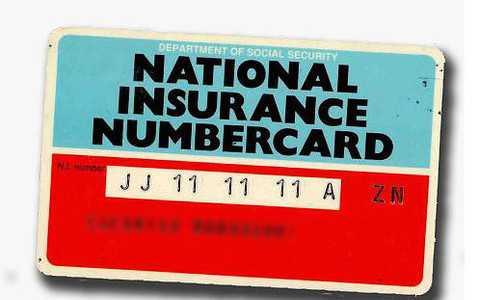 National Insurance Number - Numer Ubezpieczenia Społecznego