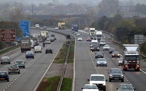 Autostrady w UK: Awaria samochodu