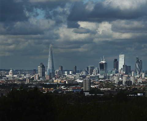 Londyn -  podział administracyjny
