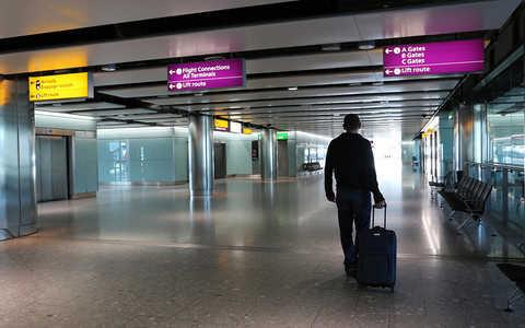 Z Londynu na lotnisko