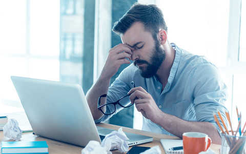 Stres i problemy w pracy