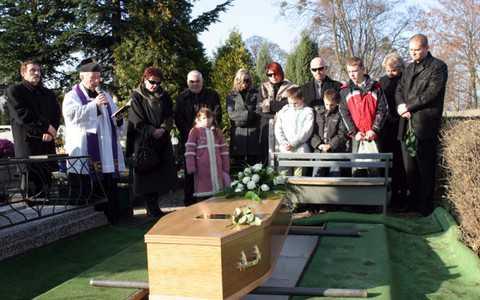Śmierć bliskiej osoby w Anglii